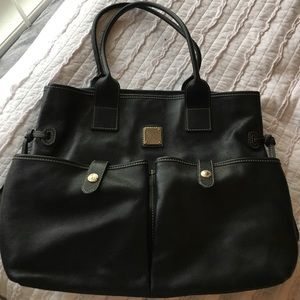 Large Dooney and Bourke Leather tote bag